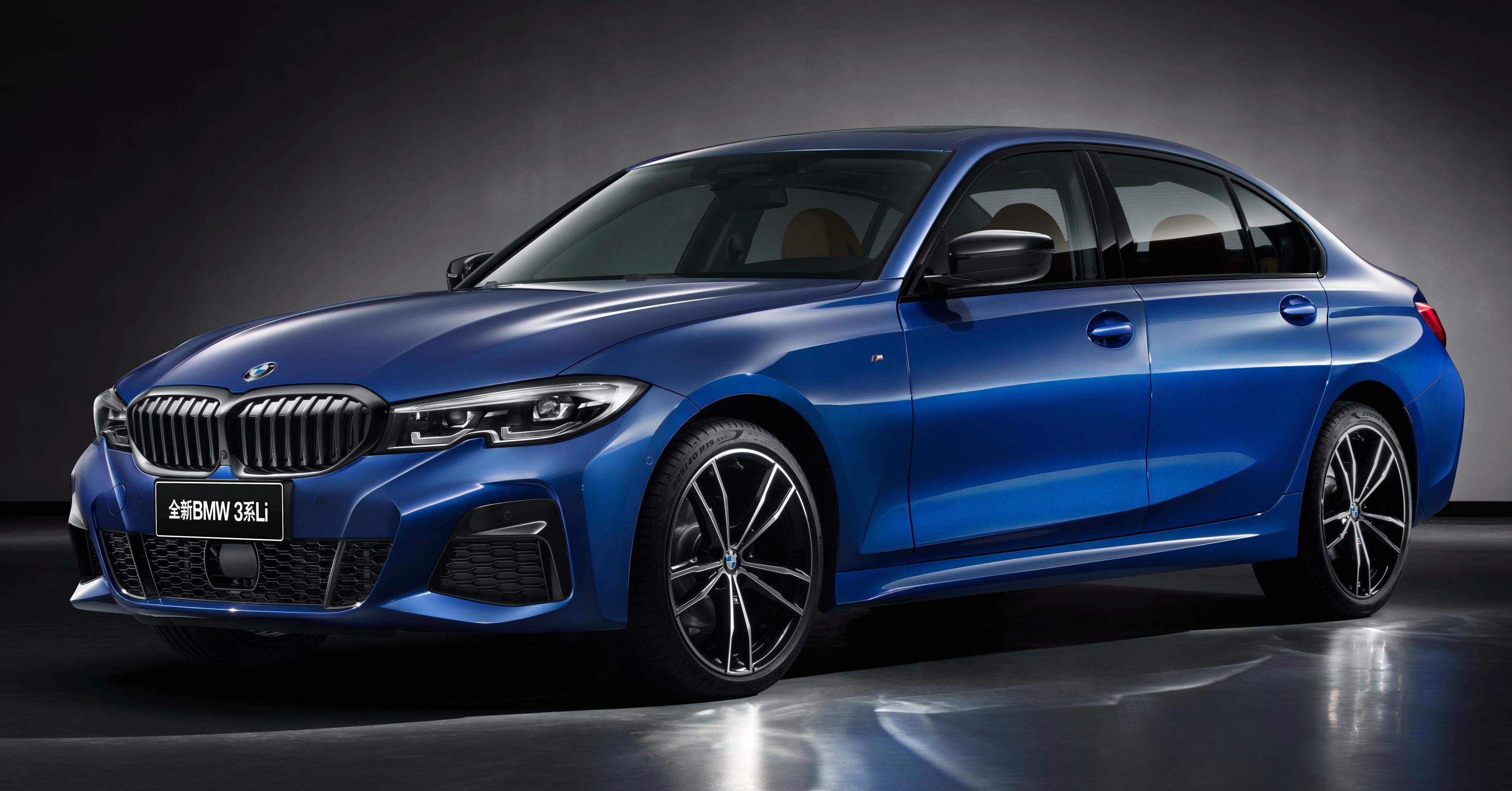 BMW 3-Series Li mới sắp ra mắt tại Triển lãm Ô tô Thượng Hải 2019