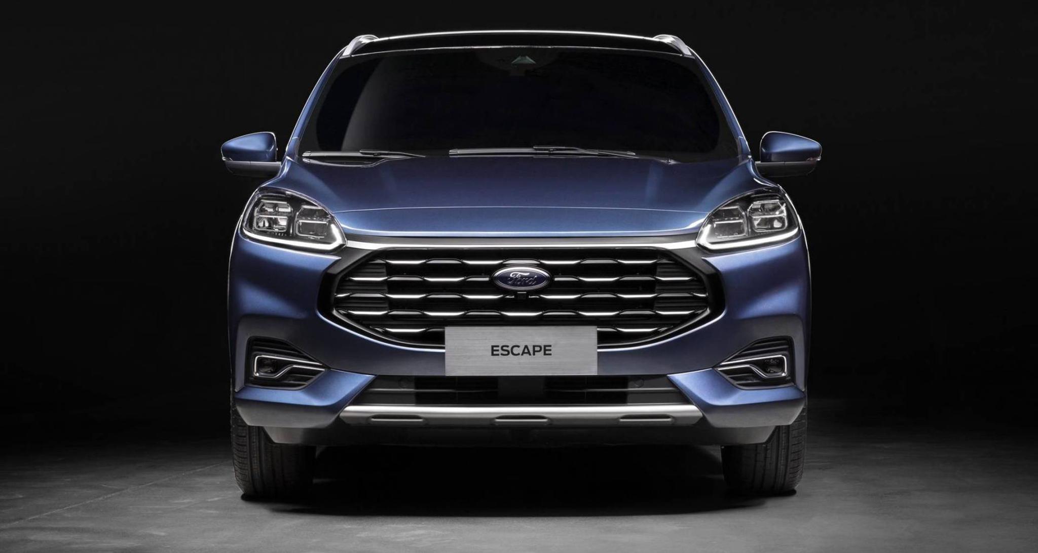 Ford Escape 2020 dành cho thị trường Trung Quốc sở hữu ngoại hình cực ngầu