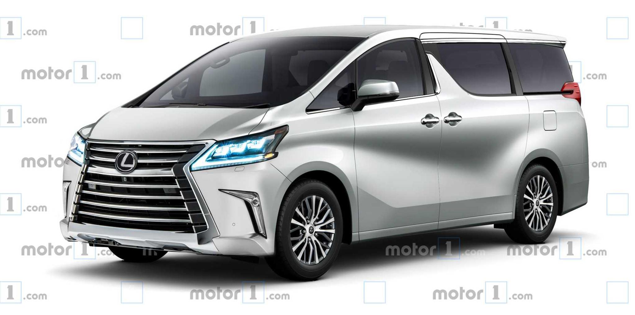 Lộ thông tin Lexus sản xuất Minivan từ năm 2020 tại Nhật Bản