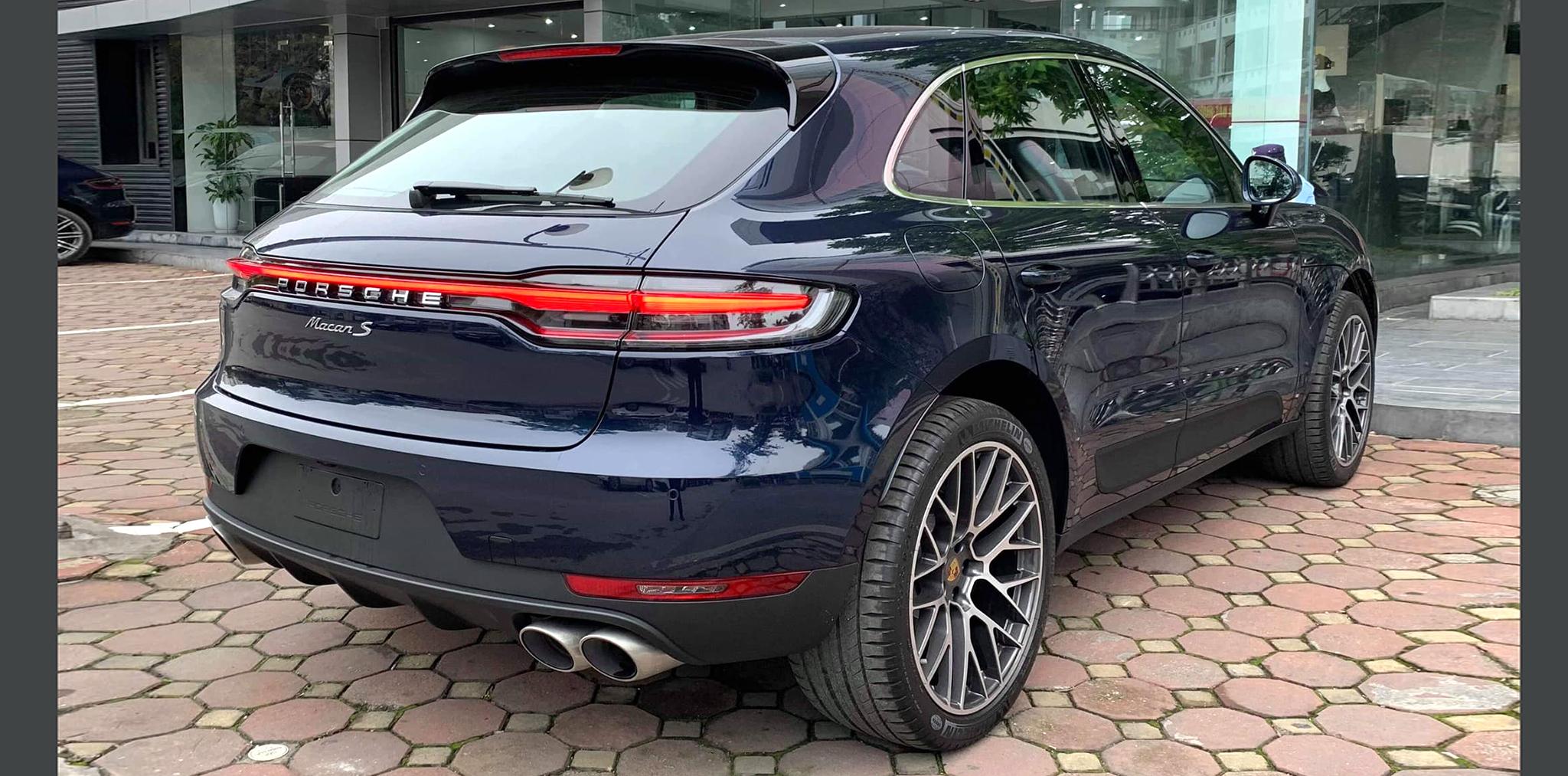 Porsche Macan 2019 về Việt Nam, giá từ 3,06 tỷ đồng