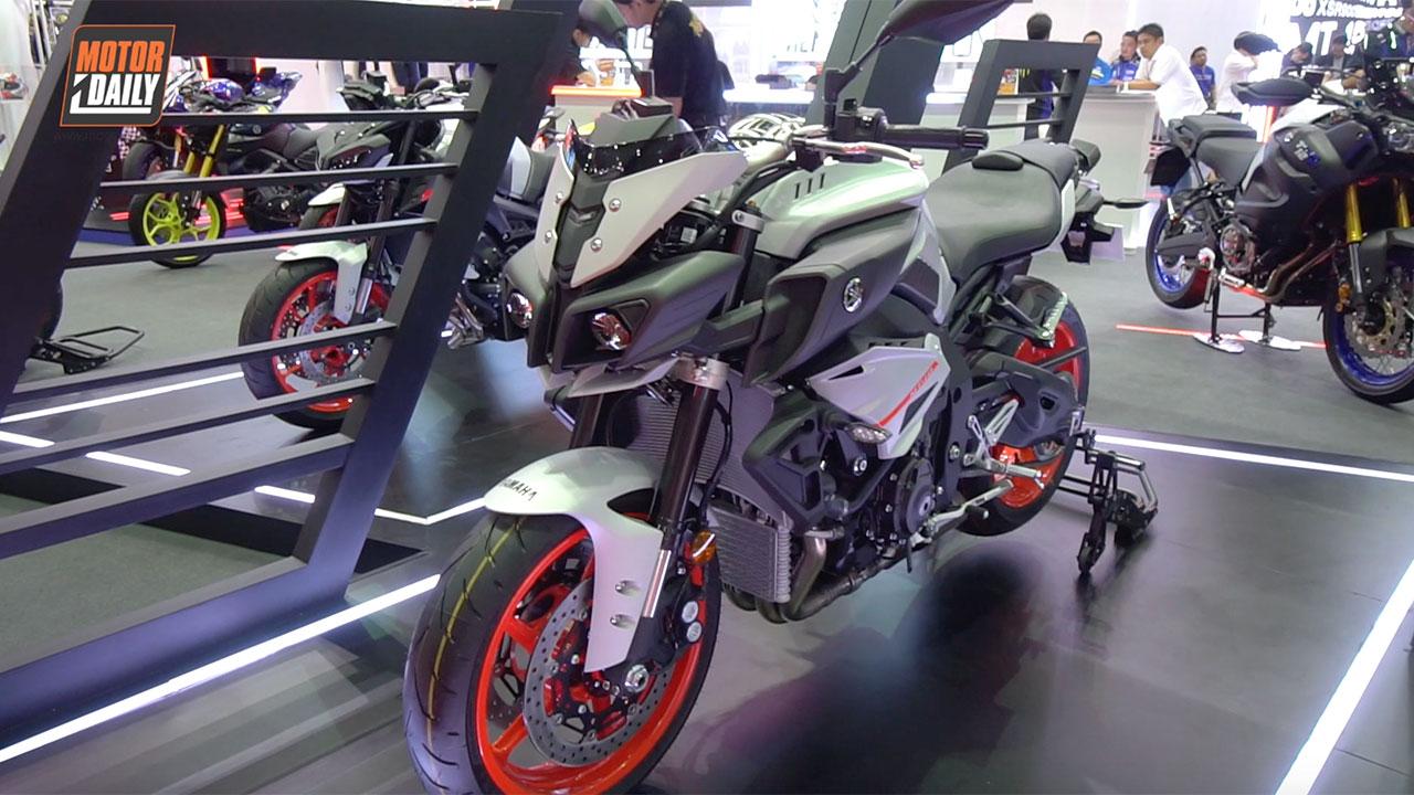 Moto PKL - Chi tiết Yamaha MT-10: Đối thủ của Kawasaki Z1000