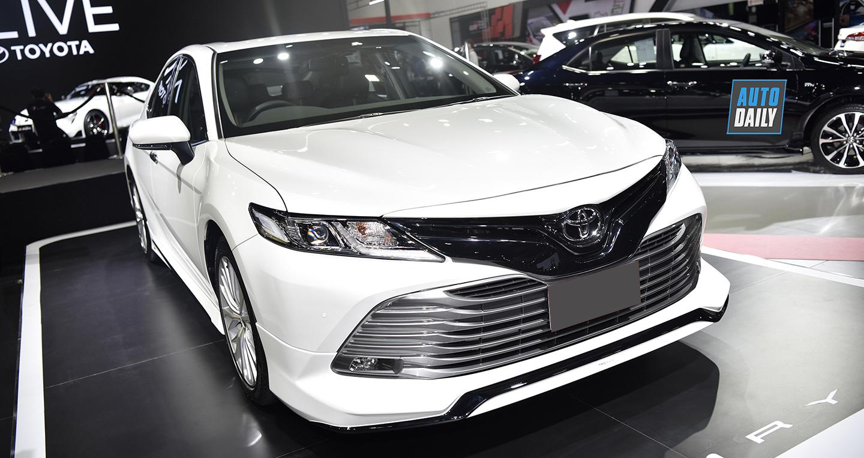 Toyota Camry 2019 nhập Thái chốt ngày ra mắt tại Việt Nam