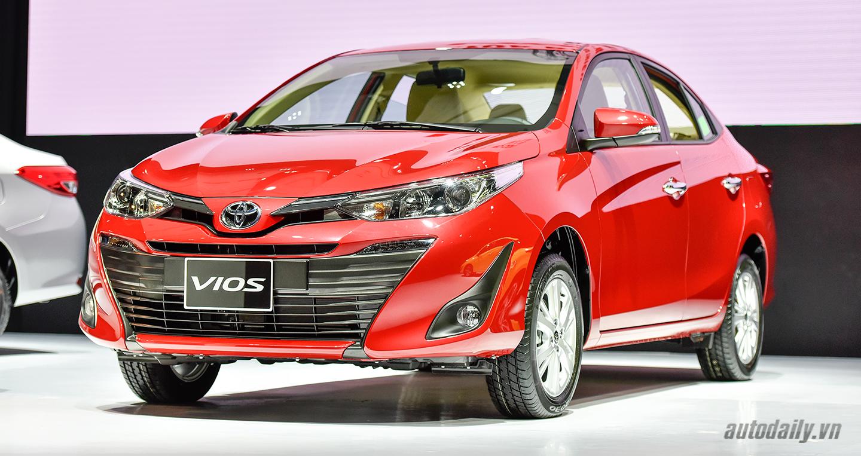 Top 10 xe bán chạy nhất tháng 3/2019: Toyota Vios giành lại ngôi vương