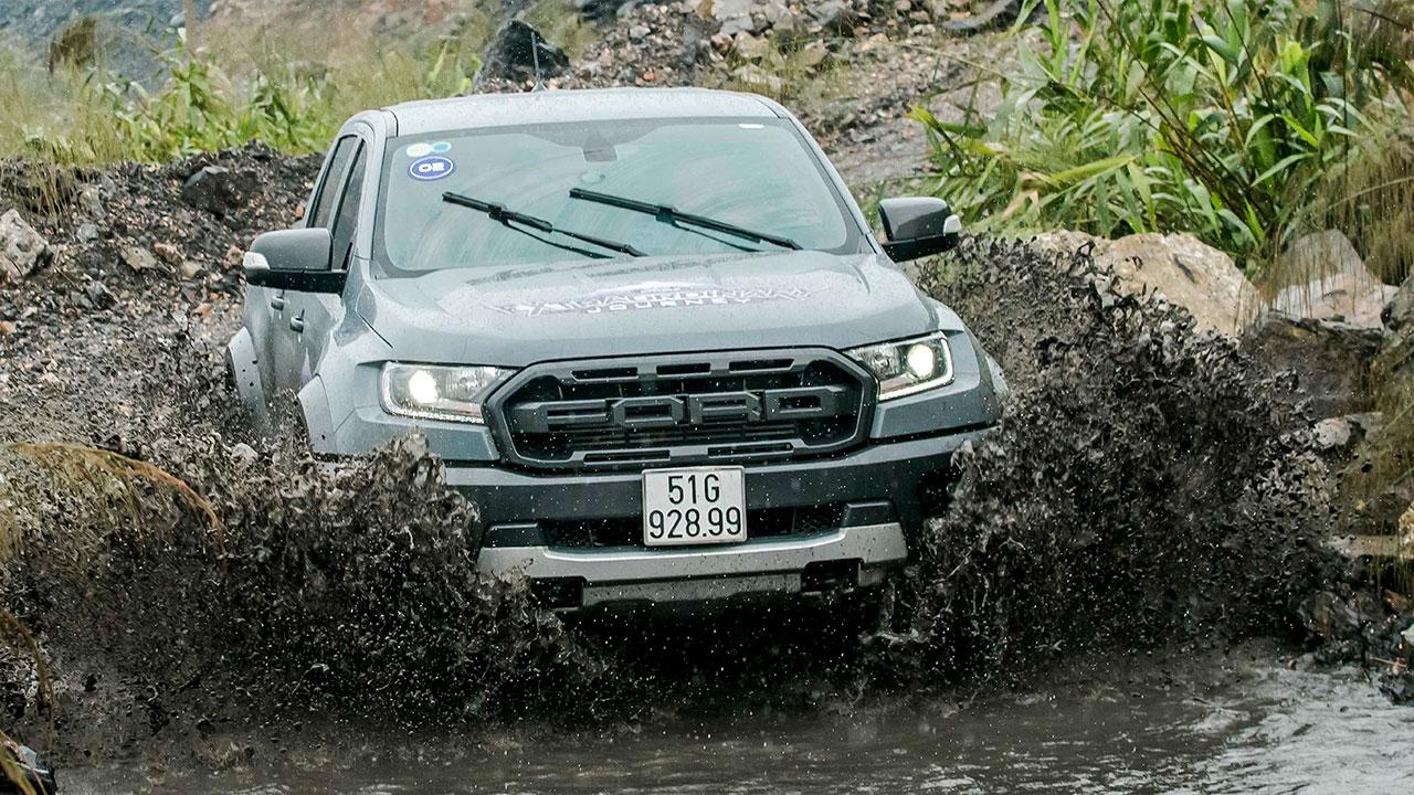 Lái thử và đánh giá Ford Ranger Raptor