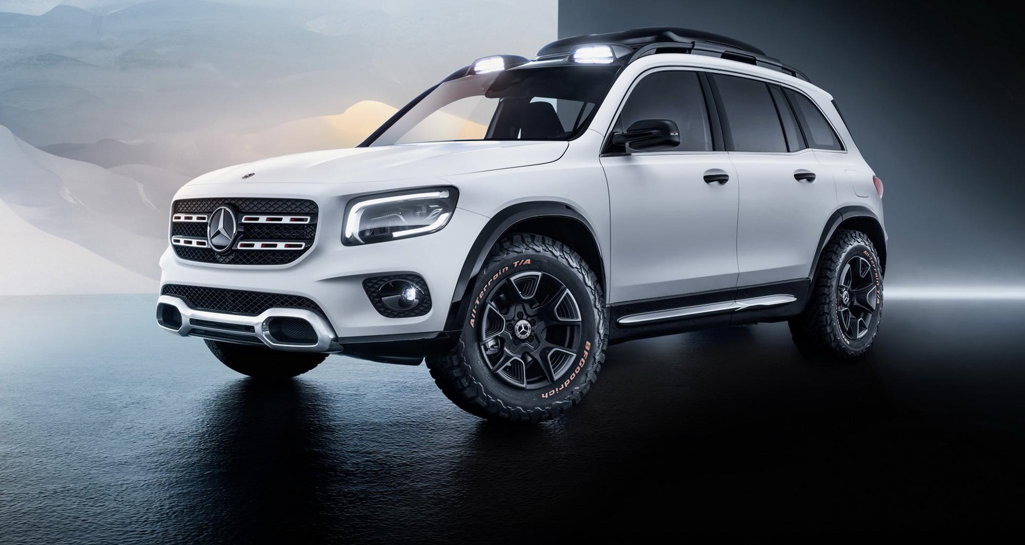 Mercedes GLB Concept ra mắt với 7 chỗ ngồi, dẫn động AWD