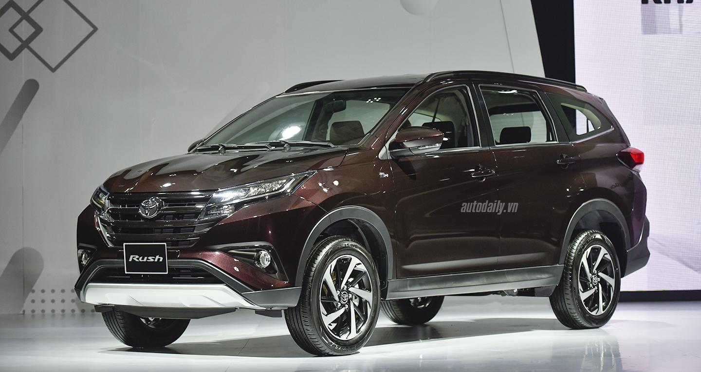 """Toyota Rush và Avanza """"hụt hơi"""" trong cuộc đua doanh số với Mitsubishi Xpander"""
