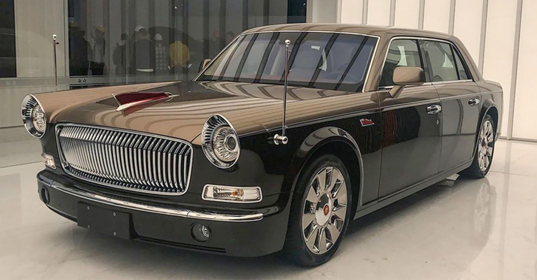 """""""Rolls-Royce Trung Quốc"""" Hongqi L5 2019 dành cho giới tỷ phú: Vươn tầm siêu sang"""