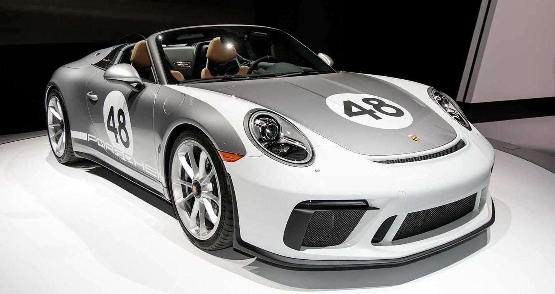 Porsche 911 Speedster 2019 chính thức lộ diện
