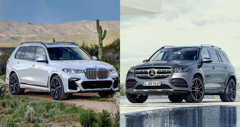 Mercedes-Benz GLS 2020 và BMW X7 2019: Cuộc chiến mới của người Đức