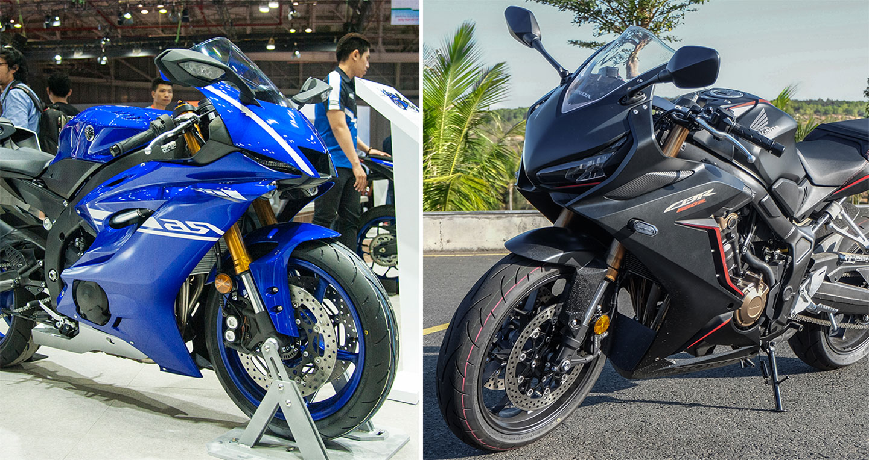 Yamaha YZF-R6 2017 vs. Honda CBR650R 2019: Chọn Sportbike nào?