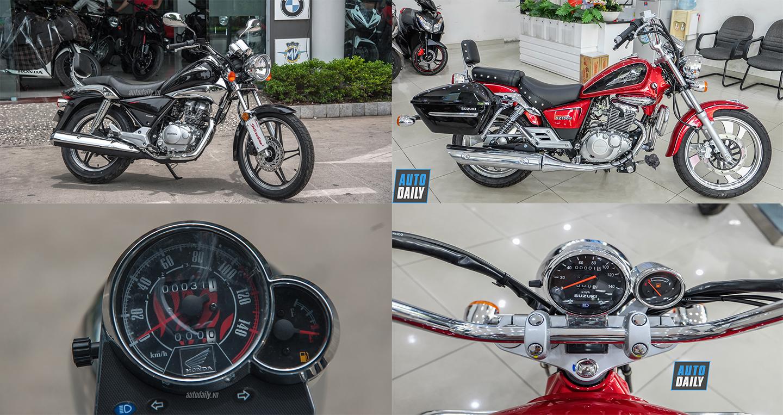 Tầm giá 70 triệu đồng, chọn Honda Shadow 150 hay Suzuki GZ150-A?