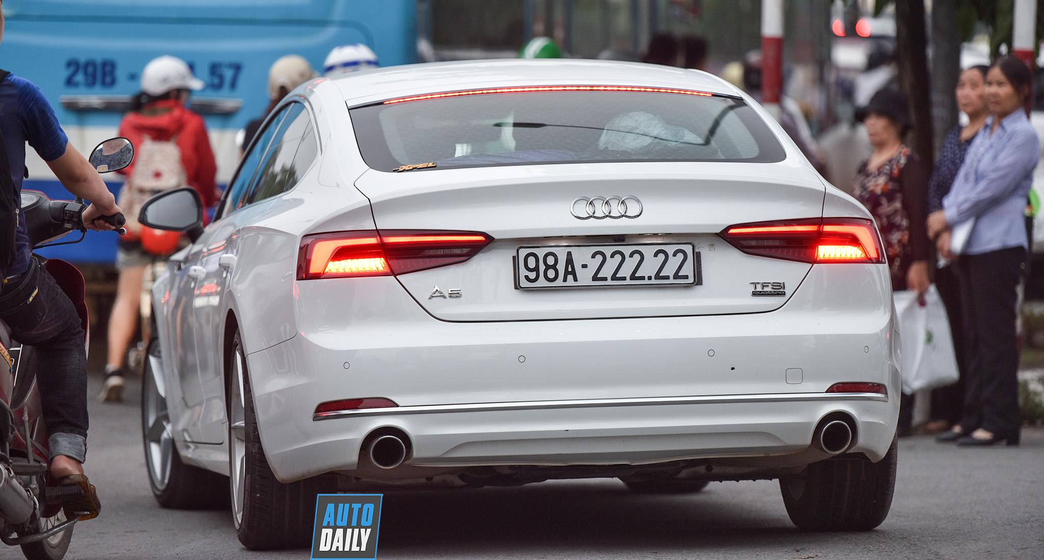 Audi A5 Sportback mang biển ngũ Quý 2 của dân chơi Bắc Giang