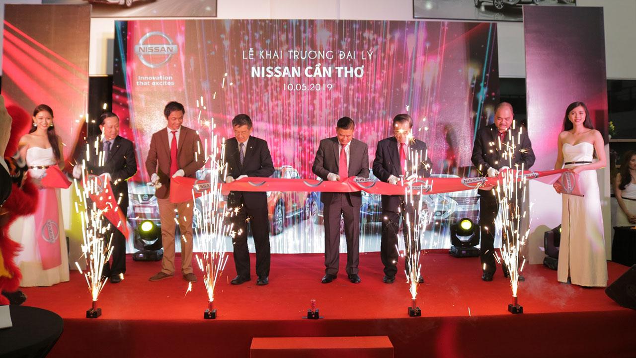 Nissan Việt Nam khai trương đại lý đầu tiên tại khu vực Tây Nam Bộ
