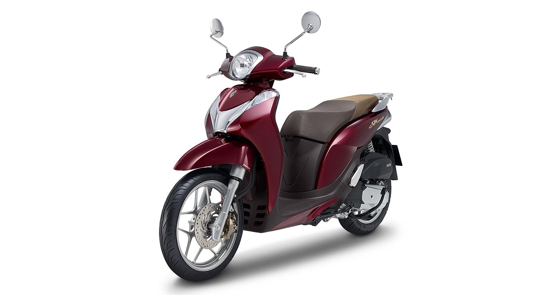 Honda SH Mode 125 có thêm màu đỏ mới, giá hơn 50 triệu đồng