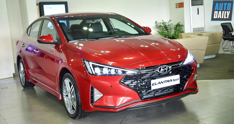 Giá lăn bánh các phiên bản Hyundai Elantra 2019 tại Việt Nam