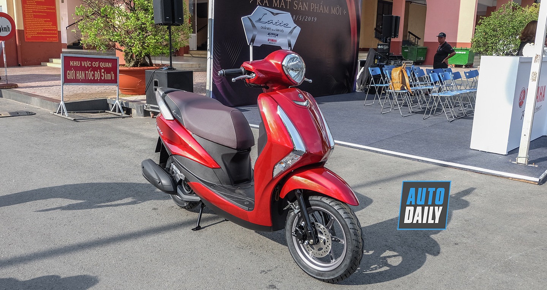 Cận cảnh Yamaha Latte có giá 37,9 triệu đồng tại Việt Nam