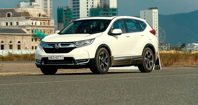 Honda tung chương trình khuyến mại hấp dẫn cho CR-V và City