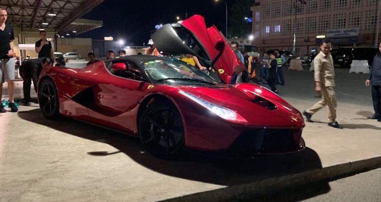 Sau Bugatti Chiron, dân chơi Campuchia tậu thêm LaFerrari