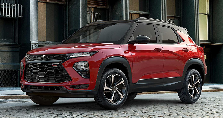 Vén màn Chevrolet Trailblazer 2021, bán ra vào năm sau