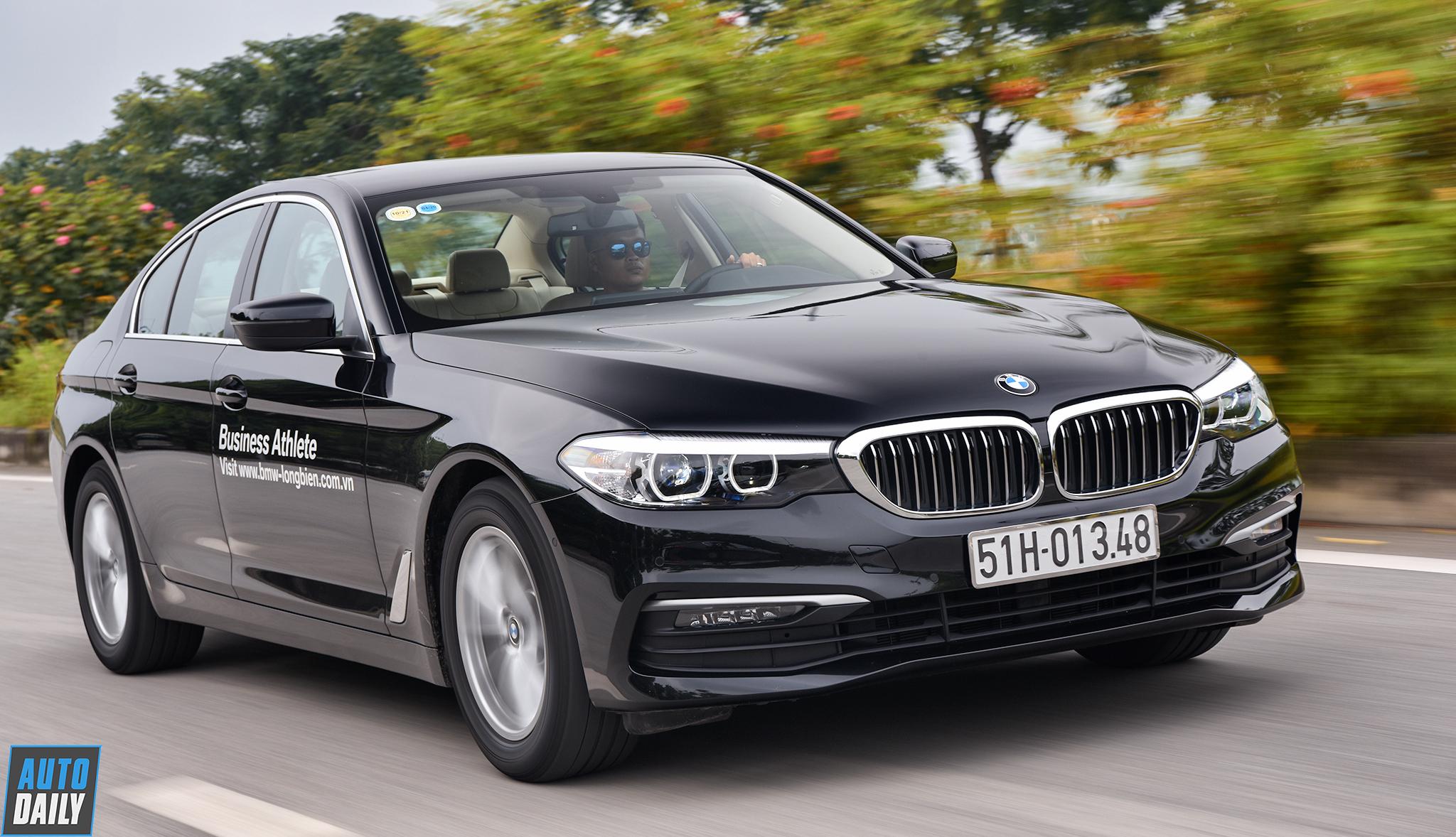 Đánh giá BMW 520i 2019:  Bất ngờ với động cơ 1.6 turbo