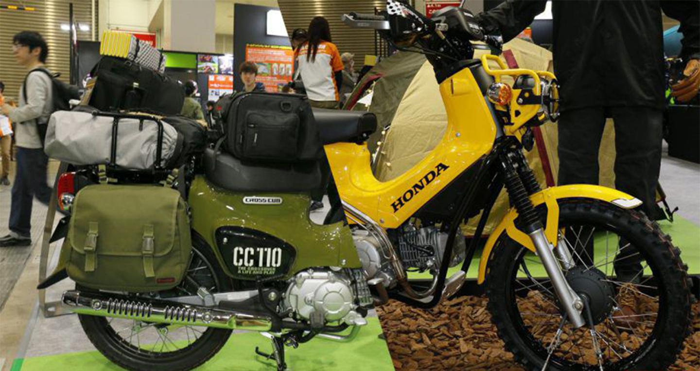 Bộ đôi Honda Cross Cub 110 độ phong cách phượt cực chất