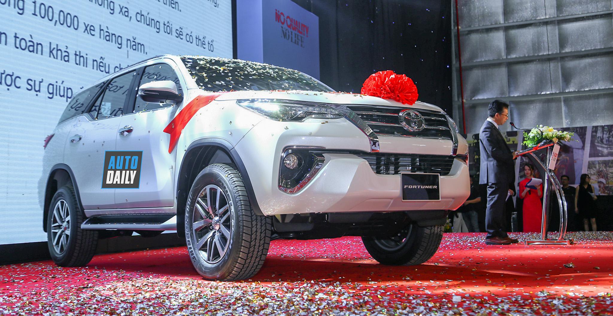 Toyota Fortuner lắp ráp trong nước ra mắt tại Việt Nam, giá từ 1,033 tỷ