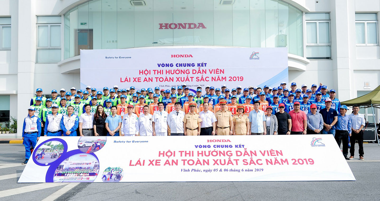 """Honda Việt Nam tổ chức Hội thi """"Hướng dẫn viên Lái xe an toàn xuất sắc năm 2019"""""""