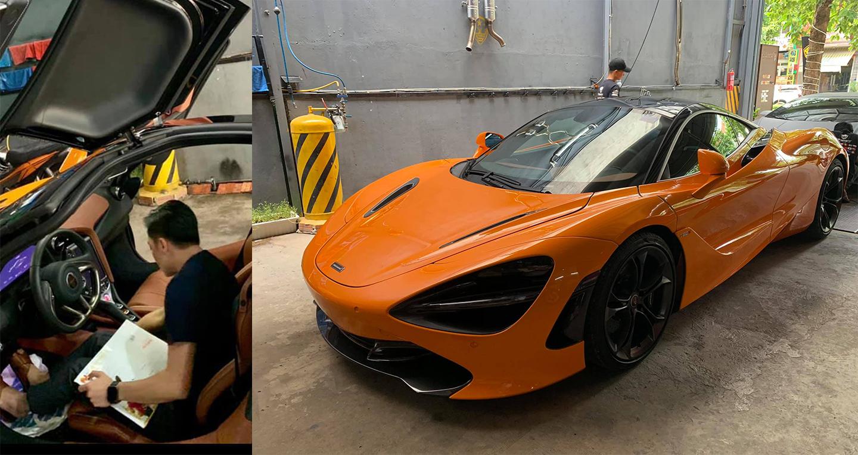 Dân chơi Cường đô la tậu McLaren 720S tham dự Car Passion 2019