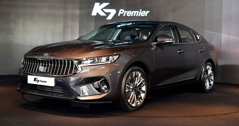 Sedan hạng sang Kia K7 2020 lộ diện với nhiều nâng cấp đáng kể