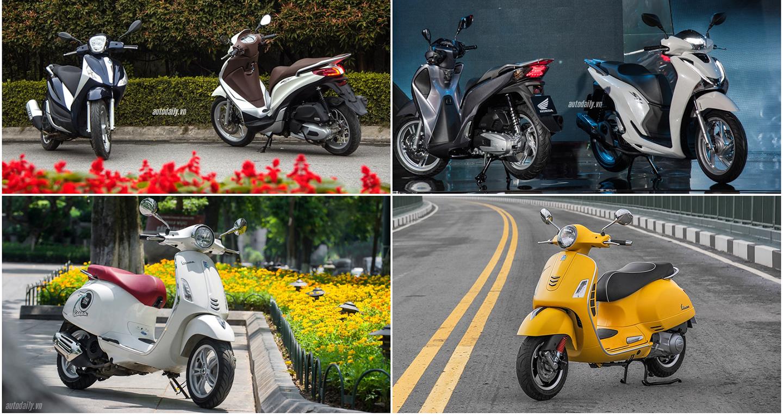 6 mẫu xe tay ga dành cho phái mạnh có phanh ABS tại Việt Nam