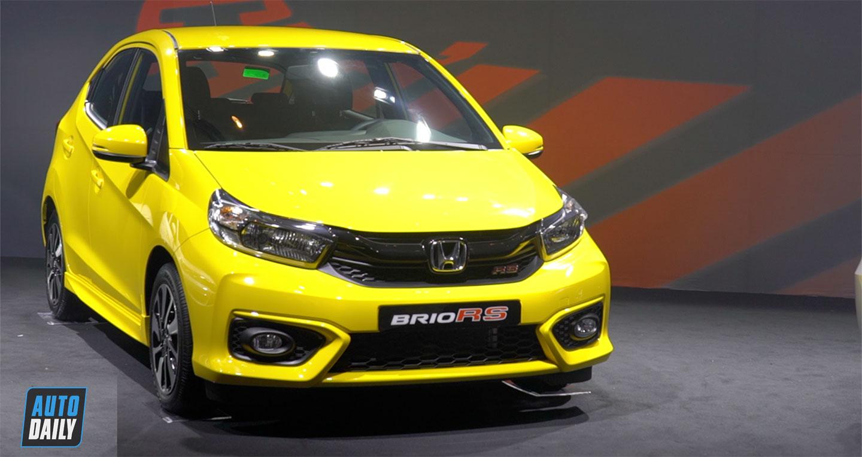 Honda Brio giá cao nhất 452 triệu có gì để đấu với VinFast Fadil?