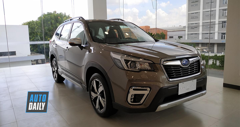 """Subaru Forester 2019 nhập Thái giá """"mềm"""" hơn đã về Việt Nam"""