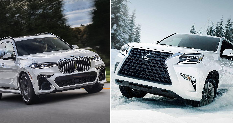So sánh nhanh Lexus GX 2020 và BMW X7 2019