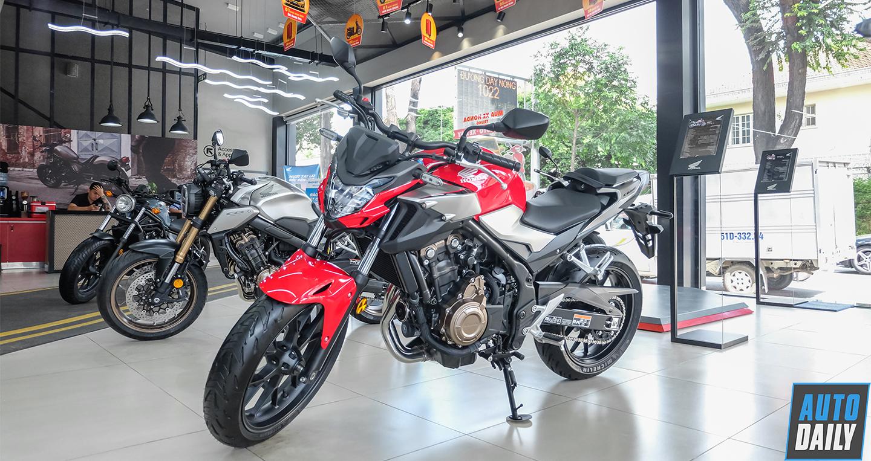 Cận cảnh Honda CB500F 2019 giá 179 triệu đồng tại Việt Nam