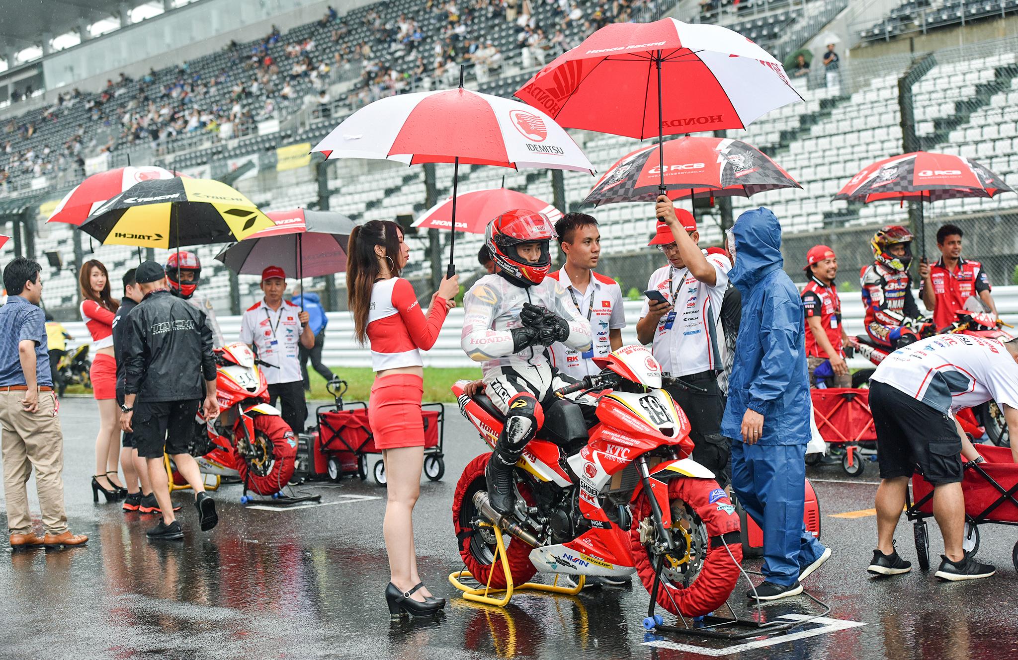 ARRC 2019 Chặng 4: Honda Racing Vietnam có điểm số đầu tiên ở hạng mục UB150