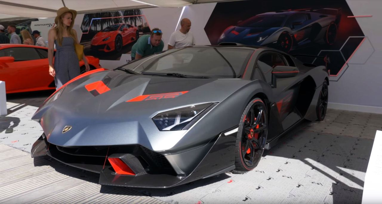 Siêu bò Lamborghini SC18 Alston khoe dáng tại lễ hội tốc độ Goodwood