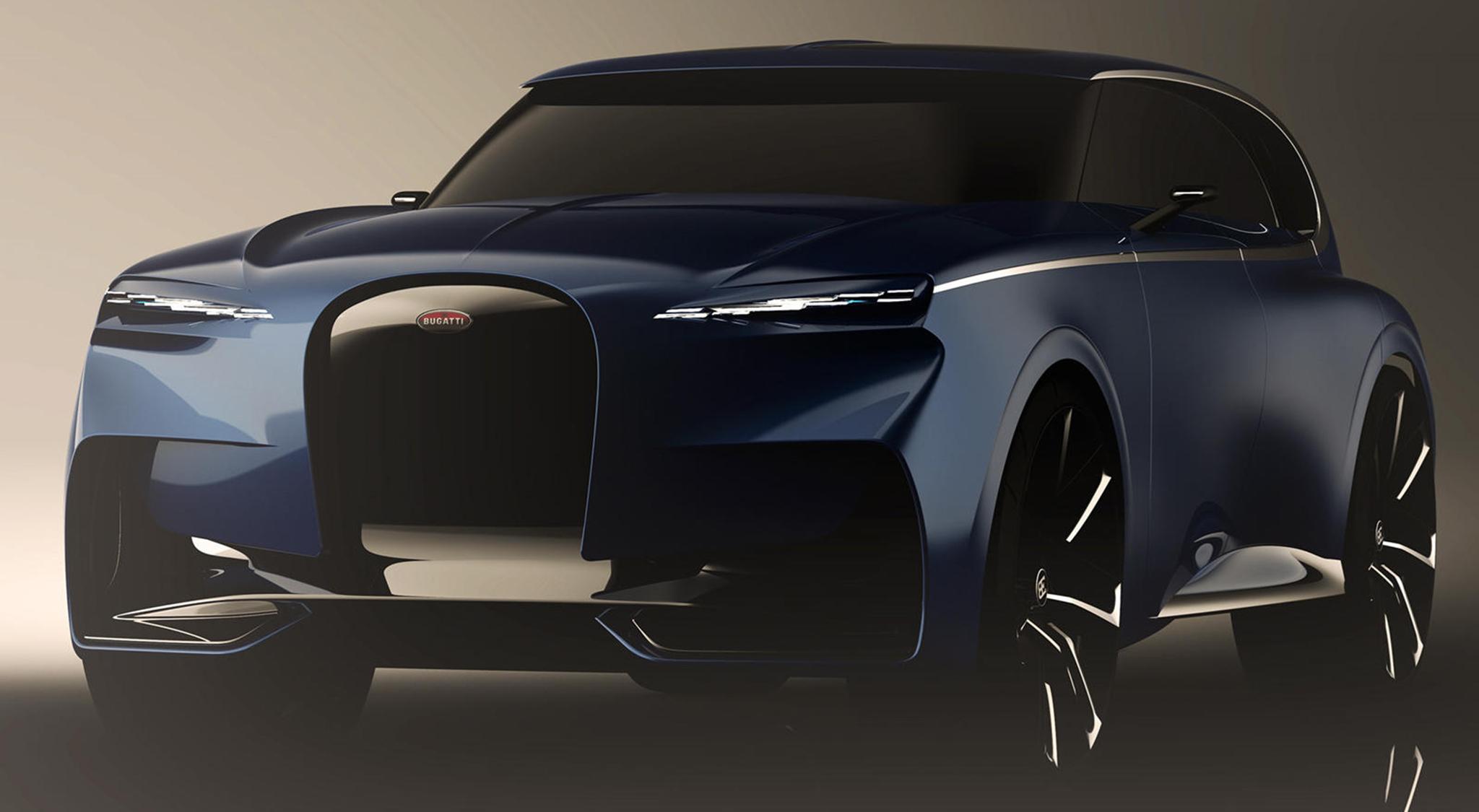 Đây là mẫu siêu SUV có thể được Bugatti đưa vào sản xuất