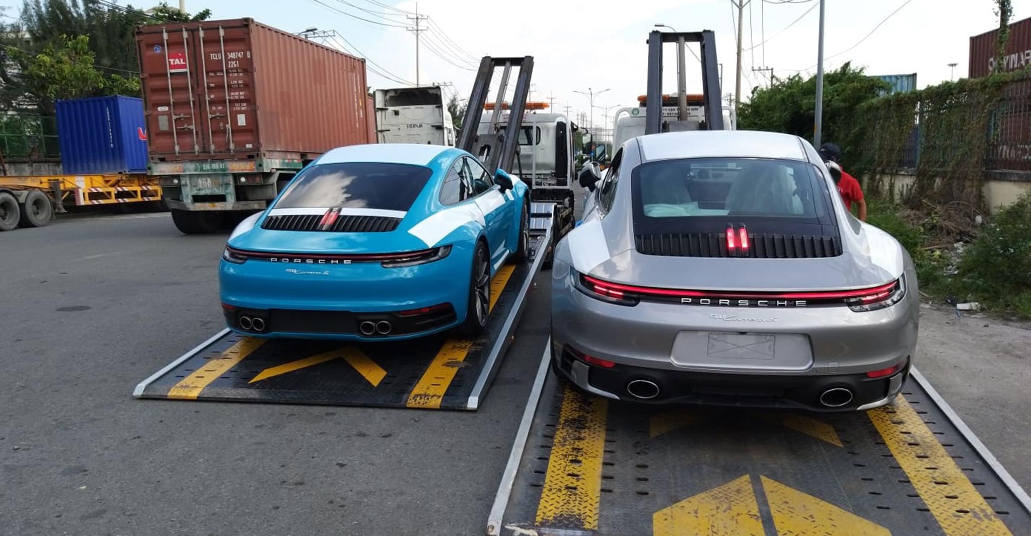 Porsche 911 2020 đầu tiên về Việt Nam, giá từ 7,6 tỷ đồng