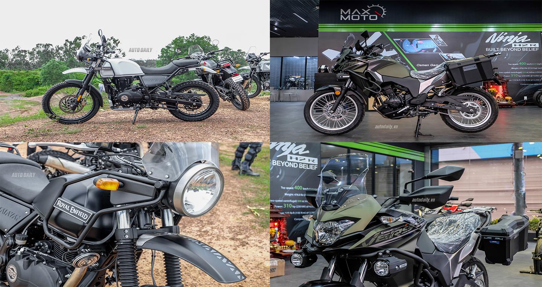 Adventure tầm trung, chọn Royal Enfield Himalayan hay Kawasaki Versys X300?
