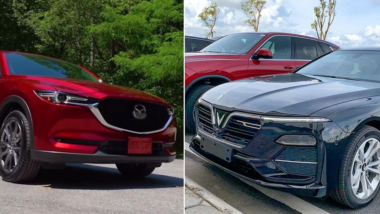 """VinFast Lux và Mazda CX-5 mới ra mắt cùng ngày, cộng đồng mạng """"dậy sóng"""""""