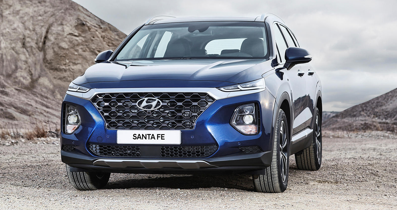 Hyundai Santa Fe 2020 được thừa hưởng nhiều tính năng từ Palisade