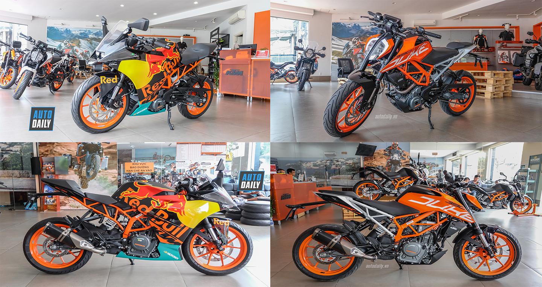 """Chọn """"chiến mã"""" nào giữa KTM RC 390 MotoGP và 390 Duke 2018?"""