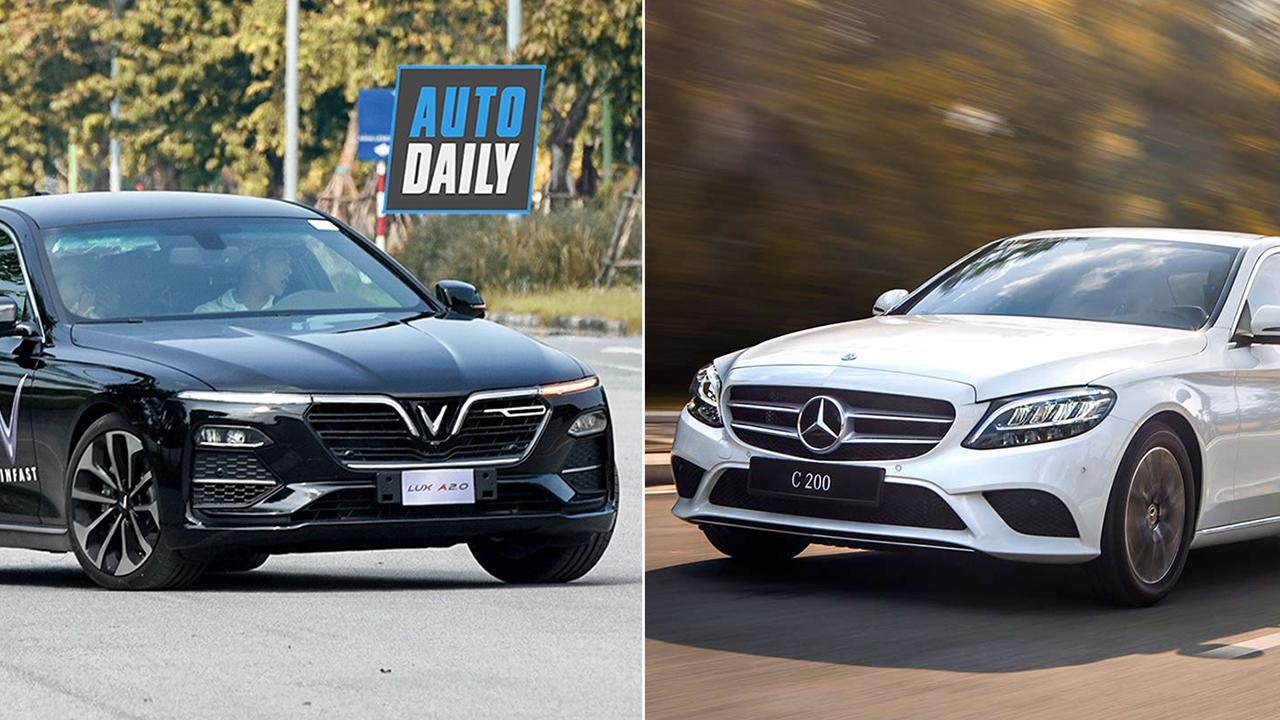 VinFast Lux A2.0 CÙNG MÂM với Mercedes-Benz C200: Bạn chọn xe nào?