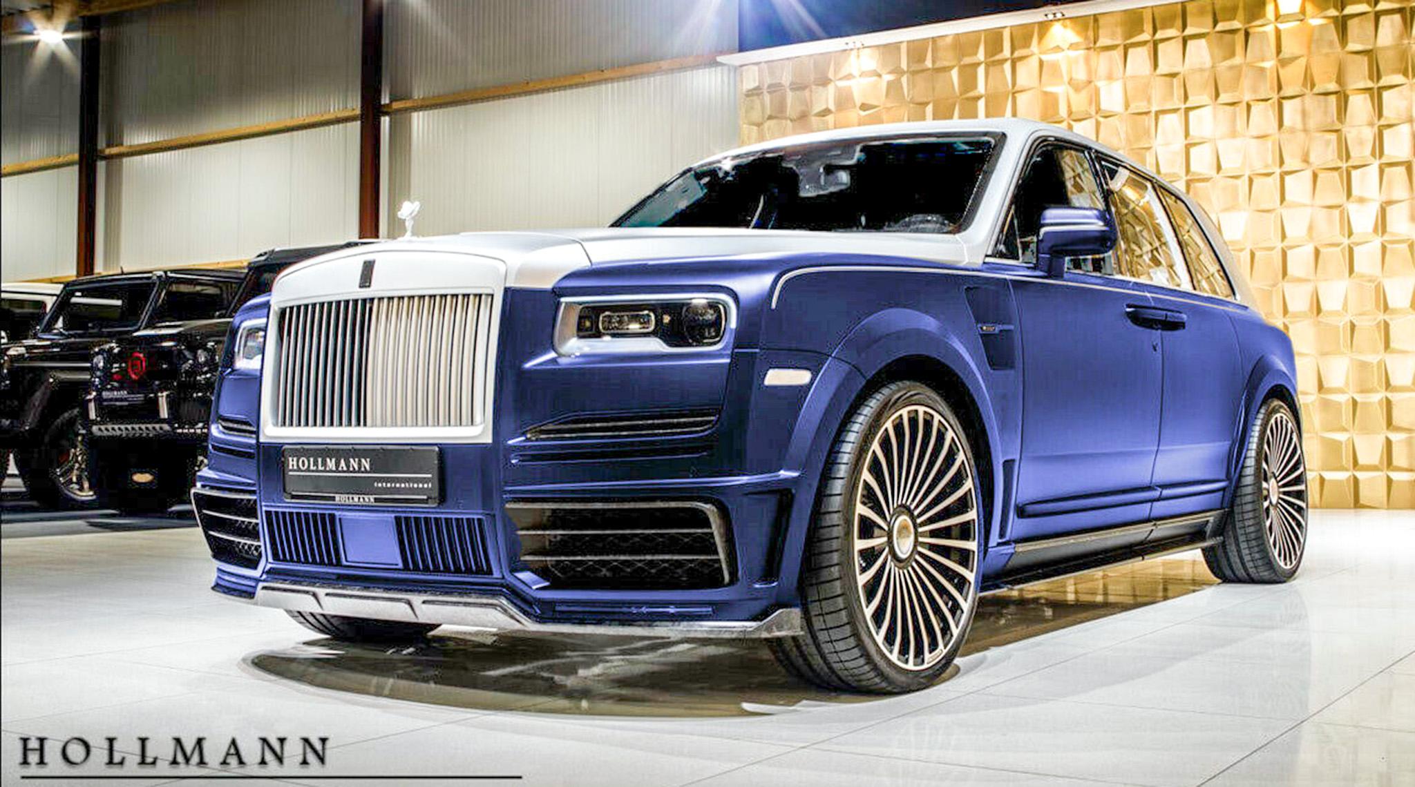 Rolls-Royce Cullinan Bodykit Mansory được rao bán giá 726.000 USD