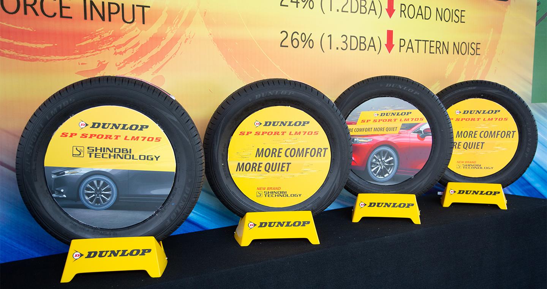 Dunlop SP Sport LM705 ra mắt khách hàng Việt, êm, bám đường và bền hơn