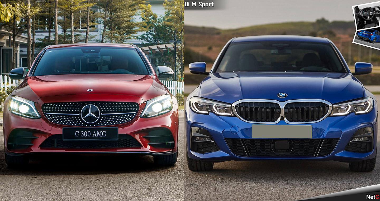 Chênh nhau gần nửa tỷ, chọn BMW 330i M-Sport 2019 hay Mercedes-Benz C300 AMG 2019?