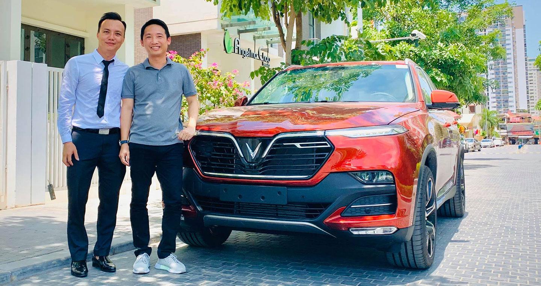 Chủ tịch Rolls-Royce Motor Cars Hanoi Đoàn Hiếu Minh muốn mua VinFast Lux SA2.0