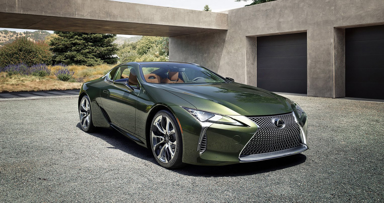 Lexus LC 500 Inspiration 2020 phiên bản màu xanh lá cây siêu độc ra mắt