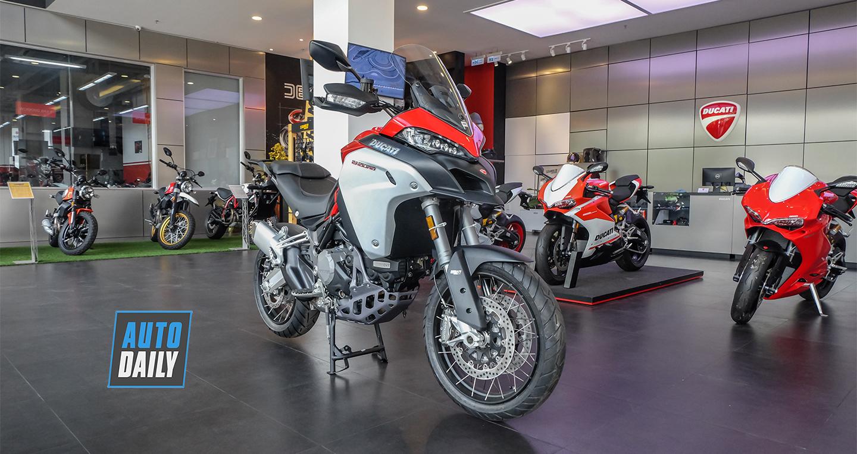 Chi tiết Ducati Multistrada 1260 Enduro 2019 có giá từ 835 triệu đồng