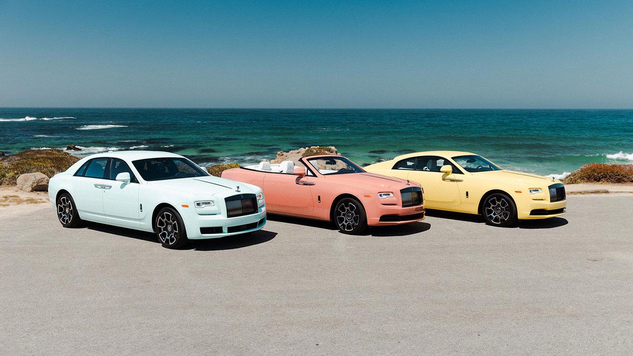 """Rolls-Royce """"khoe"""" dàn xe màu Pastel cực độc tại Pebble Beach"""